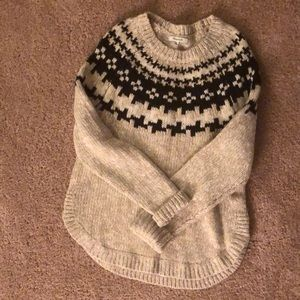Madewell Fair Isle Sweater